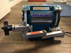 Twice As Sharp Professional Scissor Sharpening Machine for Sale in St. Cloud, MN