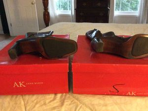Anne Klein ankle boots brown and Black for Sale in Durham, NC