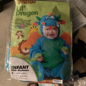 Lil dragon Infant Costume Used Once for Sale in Redlands, CA
