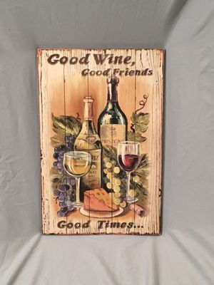 "Kitchen decor Wine 16"" X 10"" for Sale in Phoenix, AZ"