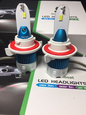 New Upgraded LED Headlight Kits 60 watts 6000k lms Pure White output for Sale in West Covina, CA