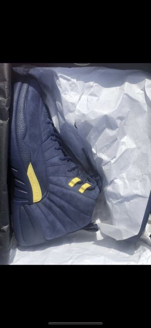 Air Jordan retro Nike 12 Michigan size 10.5 for Sale in Miami, FL