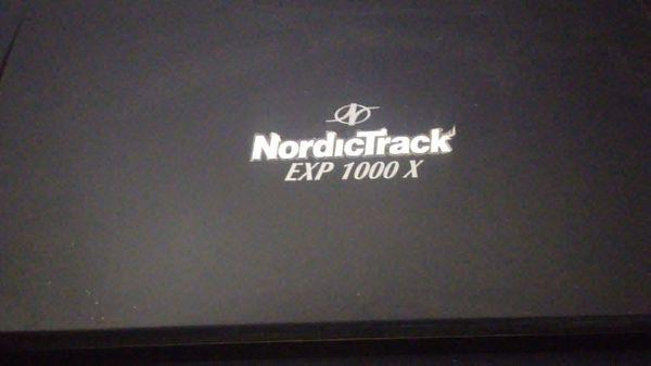Treadmill nordictrack
