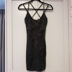 Black Glitter Dress, size S, Love Culture for Sale in Los Angeles, CA