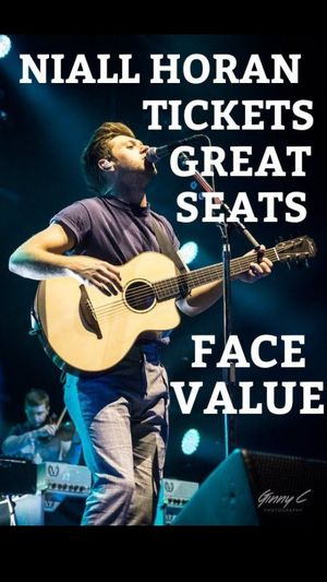 (2) Niall Horan Concert Tickets Section 119 Row 11 BB&T Center April 24, 2020 7pm Both for $300 for Sale in Hollywood, FL