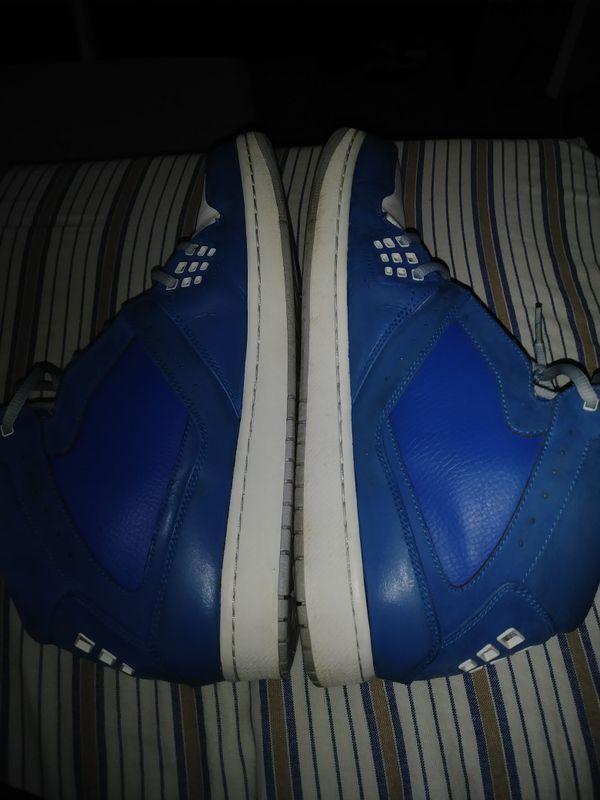 Like NEW Nike Jordan 1 Flight Mid Men's basketball shoes size 13 Military Blue 372704-401$100