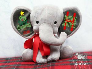 """""""My First Christmas"""" personalised Elephant for Sale in Rancho Cucamonga, CA"""