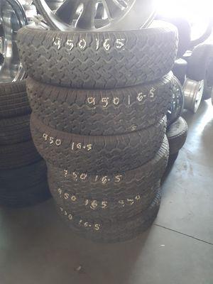 9.50 r16.5 LT trailer tires for Sale in North Las Vegas, NV