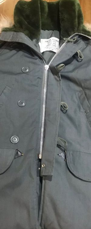 Vintage military artic parka fur collar jacket size small n3b for Sale for sale  Tyrone, GA