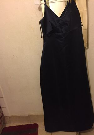 Navy blue prom dress for Sale in San Bernardino, CA