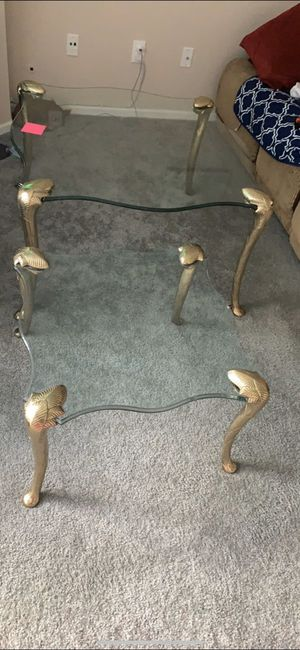 Glass Coffee & Side Table for Sale in Reynoldsburg, OH