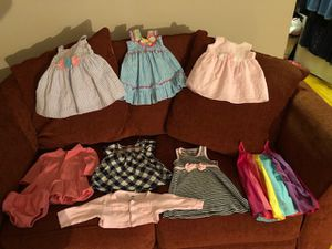 9 piece dress bundle 3 months and 3-6 months ( total of 9 pieces ) for Sale in Brooklyn, NY