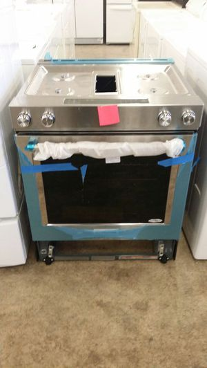 Kitchen aid duel fuel downdraft range for Sale in Beaverton, OR
