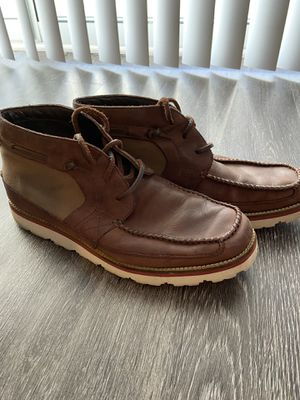 Cole haan leather chukka boots size 10.5 for Sale in Arlington, VA