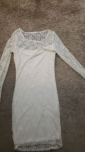 Elegant white dress, size S for Sale in Louisville, KY