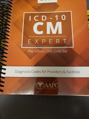 Icd 10 cm approved aapc for Sale in Winter Garden, FL