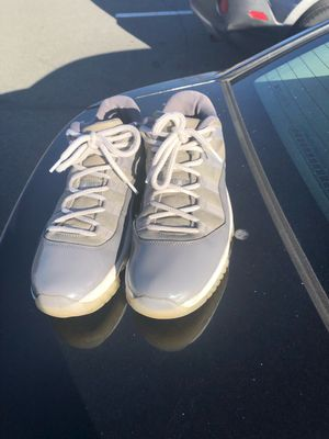 Jordan 11 cool grey lows size 11 (name your price) for Sale in Manassas Park, VA