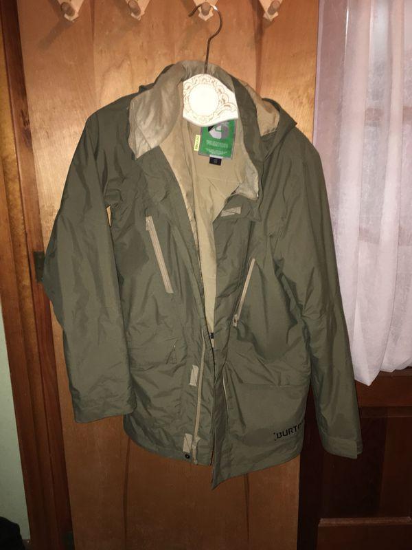 Burton jacket men's small