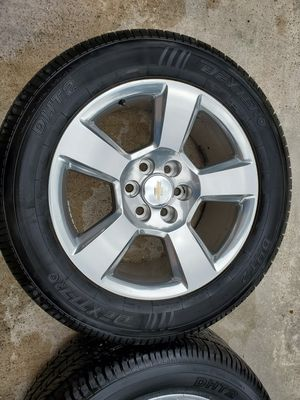 "Texas Edition Chevy Silverado GMC Sierra 20 in 20"" Wheels Rims Tires for Sale in Humble, TX"