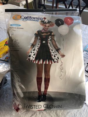 Twisted Clown Costume adult 12-14 NEW for Sale in Industry, CA