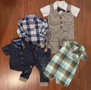Baby Boy Clothes 12 months $15 for Sale in San Jose, CA