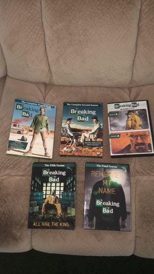 Breaking Bad All Seasons 1-6 On DVD for Sale in Lexington, KY