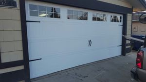 used garage doors like new for Sale in Sanger, CA