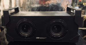 "Emerson rechargeable Bluetooth speaker 14"" long by 6"" by 6"" for Sale in Minneapolis, MN"