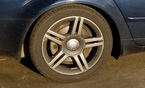 "Audi factory 17"" rims and nearly new tires for Sale in Lynnwood, WA"