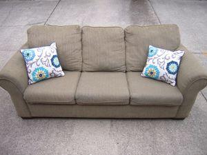 Queen Size Microfiber Sleeper Sofa Bed Couch for Sale in Midlothian, VA