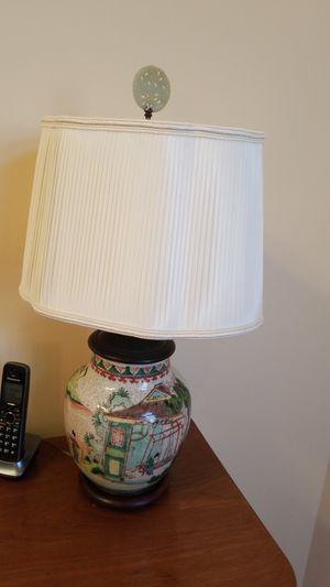 Antique Chinese jar lamp for Sale in Leesburg, VA