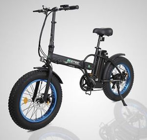 "New 20"" 500W Lithium Battery Folding Electric Bicycle Fat tire Pedal Assist ecotric for Sale in San Francisco, CA"