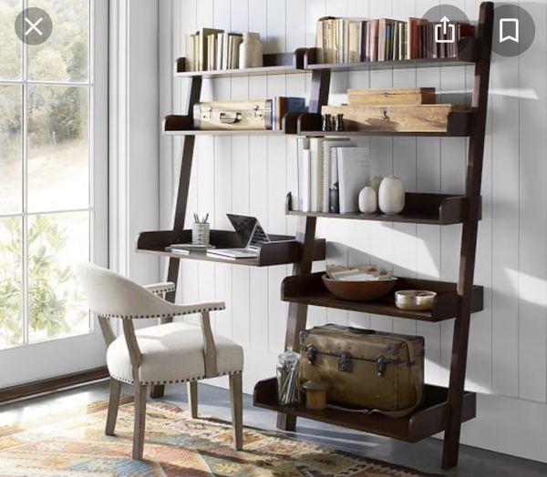 Wall shelf desk