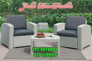 ☀️ Outdoor 3pc set @ Jordan Home Furniture ☀️ Two great locations in town ☀️ for Sale in Bakersfield, CA