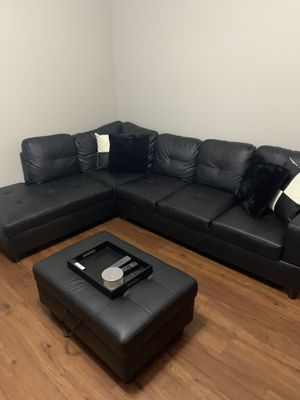 Sectional and Ottoman for Sale in Nashville, TN