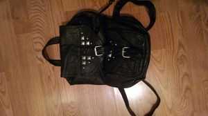 Women's Black leather backpack for Sale in Huron Charter Township, MI