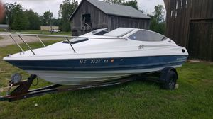 91 bayliner 19.5 feet and trailer for Sale in St. Clair Shores, MI