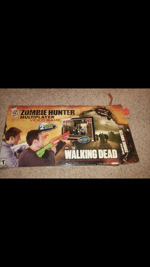 The Walking Dead zombie hunter tv plug in game for Sale in Wichita, KS