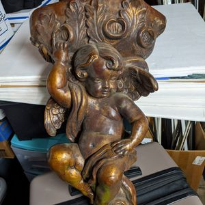 Cherub Wall Sconce Planter Large Size for Sale in Glendale, CA