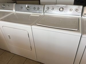Maytag Washer and Electric Dryer.. CREDIT CARDS WELCOME for Sale in El Paso, TX