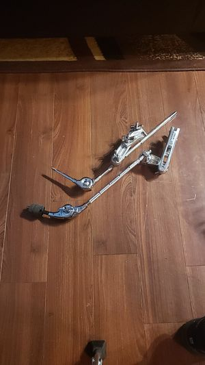Tama and gibraltar boom arm clamps for Sale in Norfolk, VA
