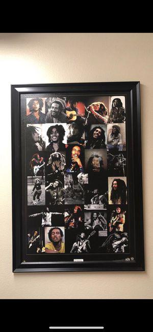 Bob Marley wall decor frame for Sale in Federal Way, WA