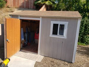 Tuff Shed 12×10 excellent condition you pick up for Sale in West Covina, CA