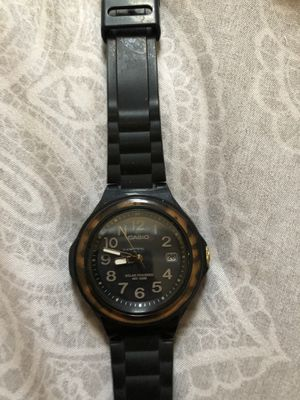 Casio solar powered watch for Sale in Los Angeles, CA