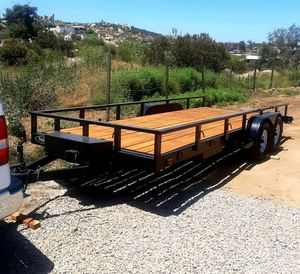 2020 Heavy Duty Trailer 7x18 for Sale in Chula Vista, CA