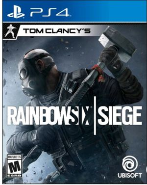 tom clancy rainbow six siege ps4 game for Sale in Bay Point, CA