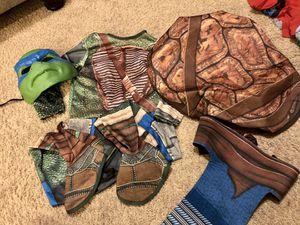 Kids Ninja Turtles costume size S for Sale in Mesa, AZ