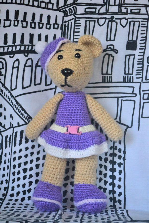 Crochet stuffed bears