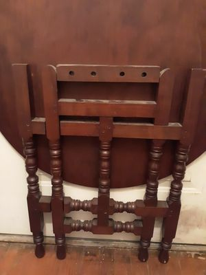 """Antique mahogany table 27"""" high 28"""" w for Sale in Fort Washington, MD"""