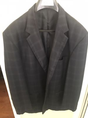 Navy blue sport jacket size 48 long for Sale in Houston, TX